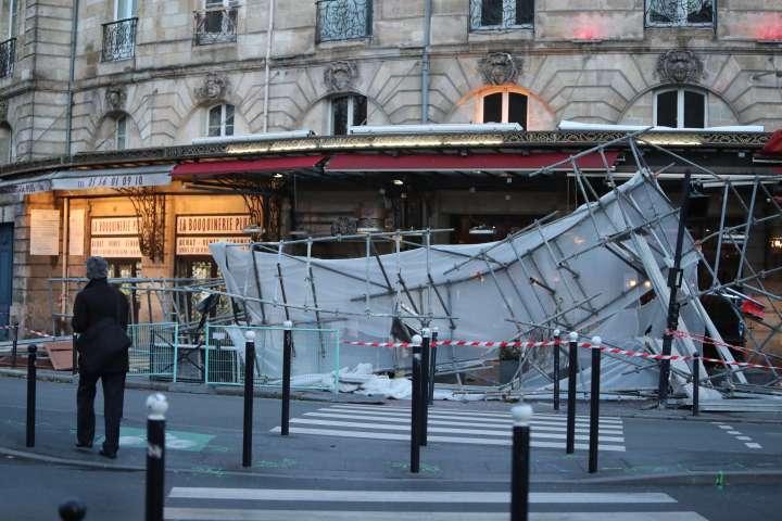 Tempête Leiv Bordeaux
